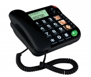 Telefon stacjonarny z dużymi klawiszami
